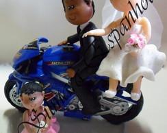 Noivinhos moto Personalizados