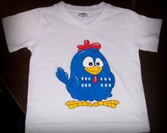 Camiseta da Galinha Pintadinha