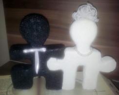 Casal de noivos - quebra cabe�a