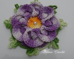 Flor segredo fechada lil�s