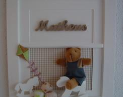 (MO 0220) Quadro maternida j�quei urso