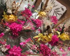 Kit festa pink & amarelo I