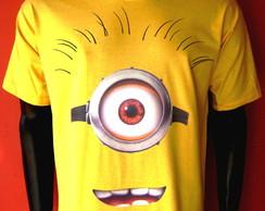 Camiseta Minions Adulto 1 olho