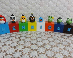 Cubos Angry Birds - Henrique