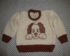 Blusa Amigo Cachorro 0 A 3 M