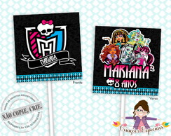 Capa para Pirulito Monster High