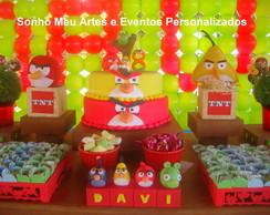 Decora��o tema Angry Birds