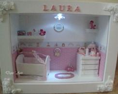 Porta Maternidade Proven�al iluminado