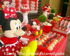 Decora��o tema Minnie.