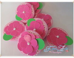 Latinha Mint To Be Pl�stica 5x1 FLOR