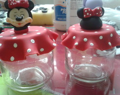 Potes de balas Festa Minnie