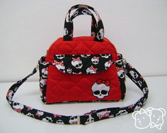 BOLSA P VERMELHA COLE��O PV MONSTER HIGH