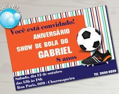 Futebol Convite Festa Show de Bola