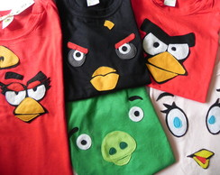 Camisas Angry Birds