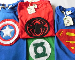Camisas Super Her�is