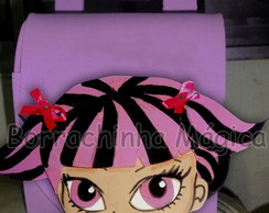 Mochilinha Monster High Draculaura e.v.a