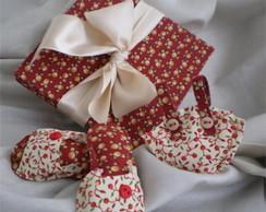 Caixa Sach�s Mini Bag e Chinelinhos