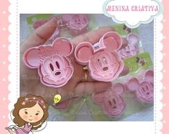 Cortador de Biscoito Minnie e Mickey