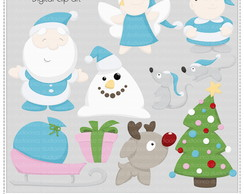 Xmas Collection 3 Clipart Digital