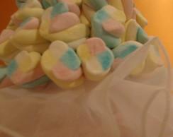 Buqu� de marshmallows