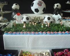 Decora��o de mesa tema Futebol
