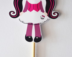 Topper  Centro De Mesa Monster High