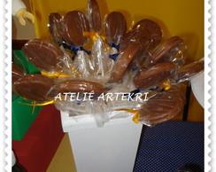 Pirulito Chocolate Recheado