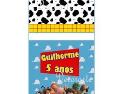 Capa Pirulito Toy Story 6,5x6,5 Cm