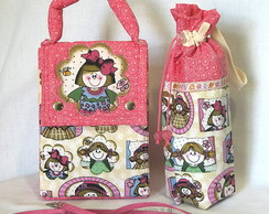 Lunch Bag Menor c/ Porta Garrafinha 03