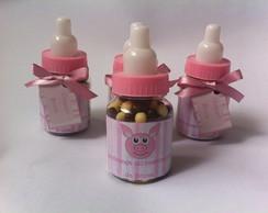 Mini Mamadeira Personalizada com doces