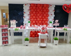 Decora��o com bolas Minnie