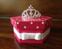 Caixa Princesa Princess - Sextavada
