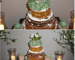 Bolo naked cakes