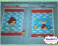 Kit Colorir 2-  Angry bird  Com Capa