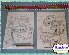 Kit Colorir 2 - Carros
