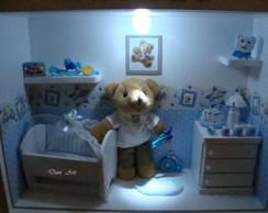 Porta Maternidade Proven�al com urso