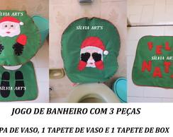 JOGO DE BANHEIRO DE 3 PE�AS
