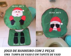 JOGO DE BANHEIRO COM DUAS PE�AS