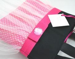 Bolsa Princesas: minnie rosa