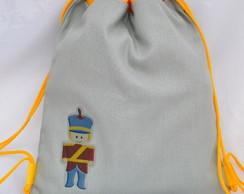 mochila (M) soldadinho de chumbo