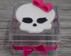Caixa de acr�lico Monster high biscuit