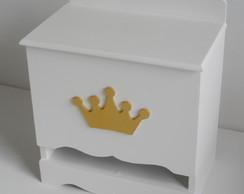 Porta Fralda Coroa Dourada