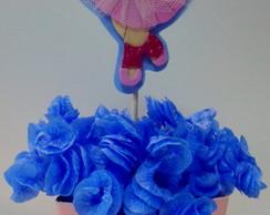 Enfeite de mesa da Dora Bailarina