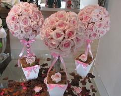 Topiara de rosas GG 50 rosas I