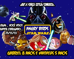 TAG ANGRY BIRDS STAR WARS