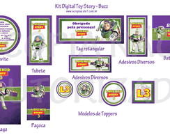 Kit Digital Toy Story - Buzz