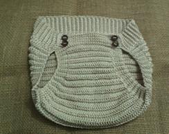 Tapa fraldas tipo enxuta em croch�