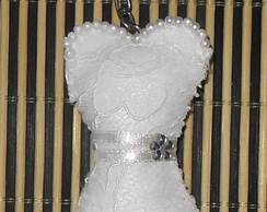 Chaveiro Vestido de Noiva - 01