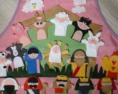 Avental Pres�pio / Nascimento de Jesus