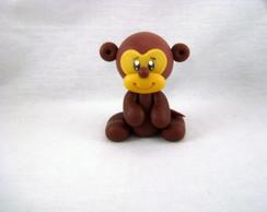 Macaco em Biscuit-Bichinhos da Floresta